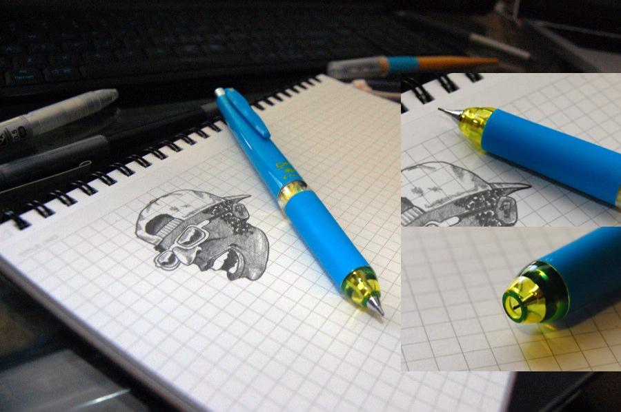 Knock Mechanical Pencil