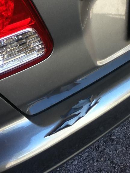 Honda Bumper on Honda Civic Bumper Repair